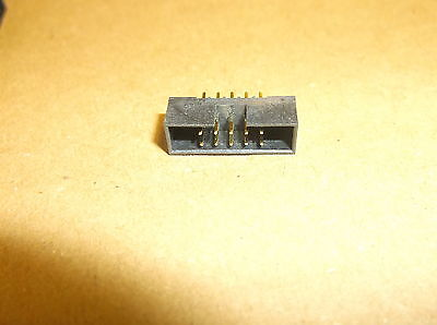 5 X (5 pieces) 2.00mm pitch Straight PCB Mount IDC Box Headers DIL       (L3030)