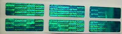 100 SWL Green Warranty Protection Security Labels Stickers Tamper Evident Seals