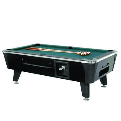 Dynamo Black Sedona Coin Operated 8' Pool Table