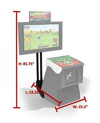 Golden Tee Monitor Stand