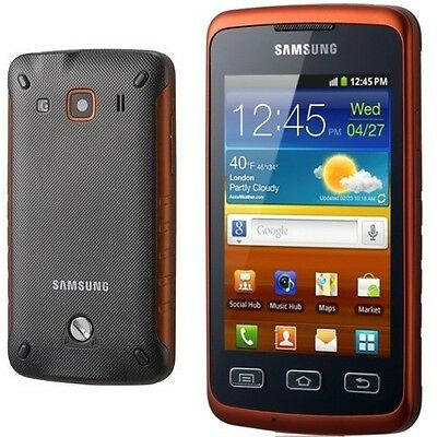 Dummy Mobile Phone Samsung galaxy S5690 XCOVER BLACK ORANGE Display Toy Replica