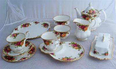Various Royal Albert Old Country Rose Tea Service Items - Multi-Listing