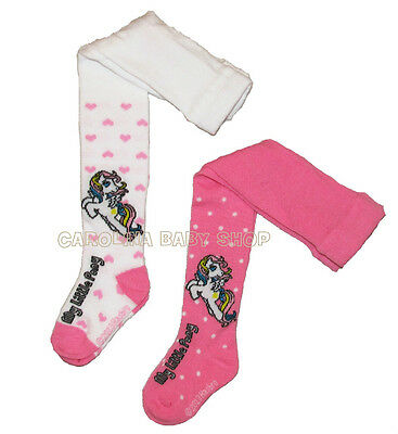 NEW official Hasbro My Little Pony baby girls tights 6-9-12-24 months