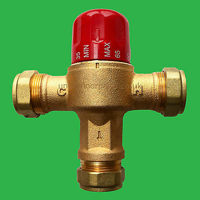 Underfloor Heating Blending Mixing Valve 28 mm Reliance Heatguard HEAT115002