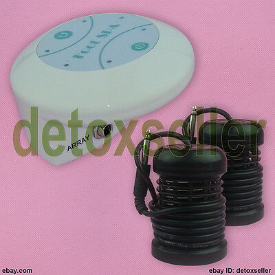 Detox Detoxification Foot Spa Ionic Foot Bath Spa Cell Cleanse Machine No Tub