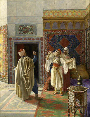 Oil painting portraits The Arabian peninsula, local conditions and customs Arabs