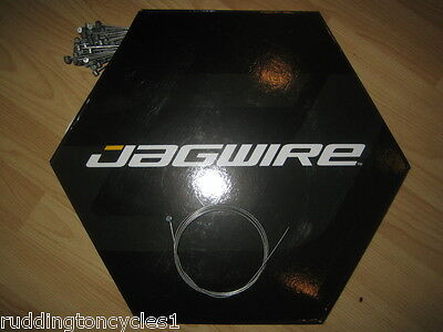 Jagwire Cycle Inner Brake Cable Wire Barrel Nipple Galvanised, Stainless, Slick
