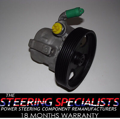 Citroen Berlingo 2004 to 2008 1.6 HDI Genuine Reconditioned Power Steering Pump