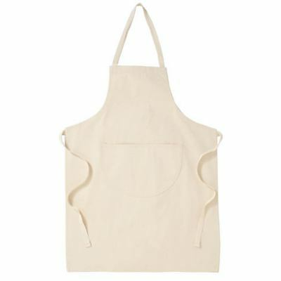 Brand New Boys Girls Woodwork Cooking Craft School Apron Cream