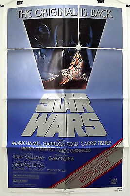 Star Wars - Mark Hamill / Carrie Fisher - Original American 1Sht Movie Poster