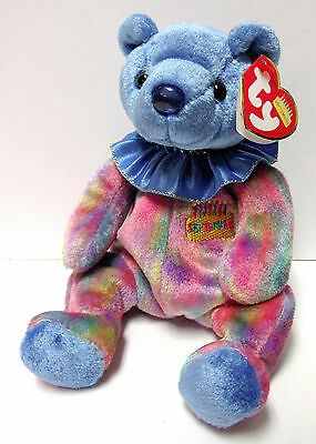 "Ty Beanie Baby ""September"" Birthday Beanie Collection, New w/Mint Tags"