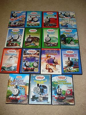 Collection of Nine Thomas & Friends DVD's