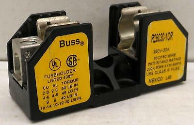 Cooper Bussmann Buss R25030-1Cr Fuse Holder, 30A 250V, 1 Single Pole