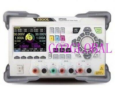 NEW RIGOL 3 Outputs Programmable DC Power Supply DP832 195W  350 uVrms/2mVpp
