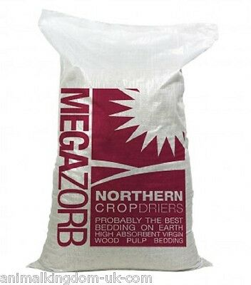 Megazorb Bedding 85lt Bale For Bedding Snakes, Rats, Chickens & Small Animals