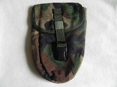 MOLLE E-Tool Military New G.I. US Surplus Shovel Carrier Cover Woodland