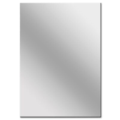 Acrylic Mirror Perspex A1 Size 3 mm Thick  (594 MMx 841 MM), Shatterproof mirror