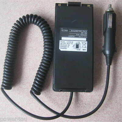 Battery Eliminator for Icom BP-195 BP-196 IC-A4 IC-F3 IC-F4 IC-T2 Two-Way Radio