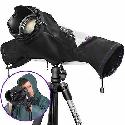 Altura Photo Protective Rain Cover for Digital Cameras - DSLR SLR Mirrorless Cam