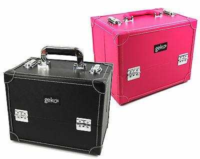 Beauty Box Vanity Case Makeup Bag Professional Faux Leather New Design by Geko™
