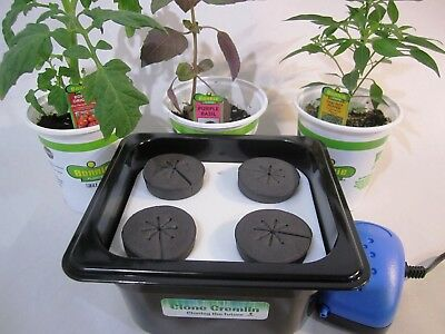 Cloner for plants, five site compact cloning machine