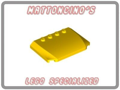 LEGO 1x 52031 Yellow Wedge 4 x 6 x 2/3 Triple Curved NEW
