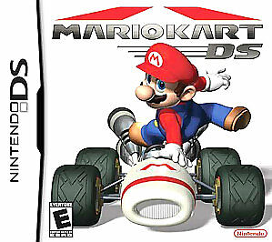 Mario Kart DS  (Nintendo DS, 2005) GAME CARTRIDGE ONLY NO BOX OR MANUAL