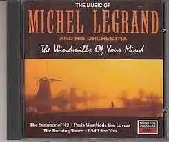THE WINDMILLS OF YOUR MIND - MICHEL LEGRAND (CD) - GOOD -24 HOUR POST!!!