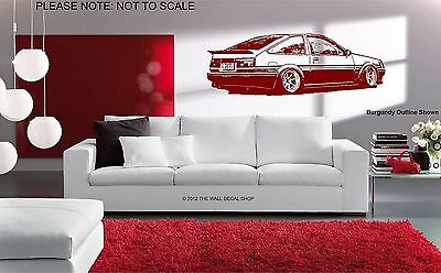 Toyota Corolla Levin Ae86 - Wall Art Decal Sticker