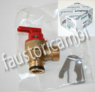 Vaillant Valvola Sicurezza Cpl 3 Bar Art. 178985 Caldaia Vmw 242/3