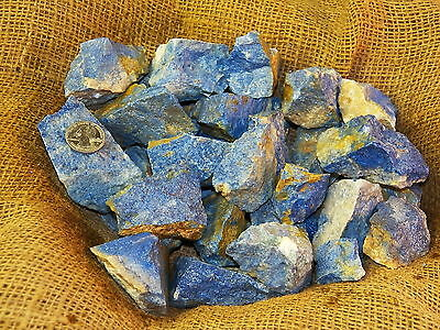 1000 Carat Lots of Rare High End Dumortierite - Plus a FREE Faceted Gemstone