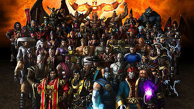Mortal Kombat - Wall Poster - 22in x 34in ( Fast shipping  in Tube ) 03