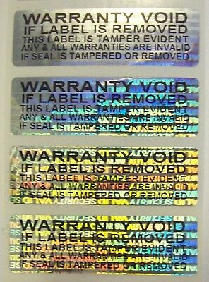 """100 SVAG-SSS .625"""" x 2""""  Hologram High Security Label Seals Product Protection"""