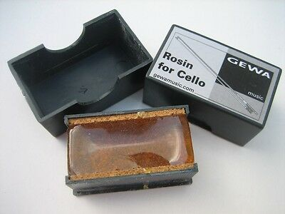 From Gewa (Germany)  CELLO ROSIN / Resin at a Budget price
