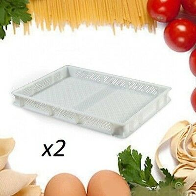 (2) Pasta Drying Trays (plastic)