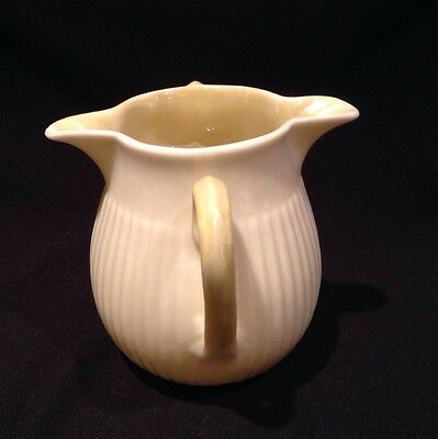 Double Spouted Belleek Creamers Double Handles, 6th Green Mark