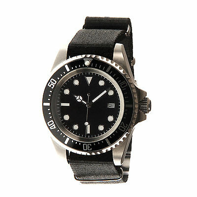 B-UHR submariner model watch,stainless steel, brand new in box + warranty card!