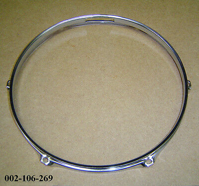 "14"" 6-Lug Triple Flanged H/Duty BOTTOM Hoop / Ring / Rim Snare Drum **B-GRADE**"