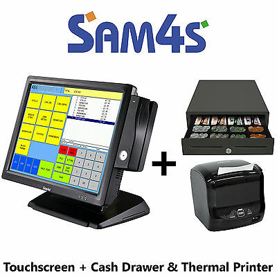 Sam4S Sps2200 Touch Screen Retail Store/newsagents Sps 2200 Bundle Deal Sps-2200