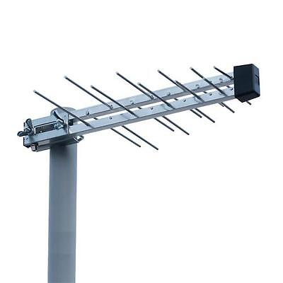 Mini UHF Log Periodic Wideband Aerial HD & Saorview Freeview Compatible Irish TV