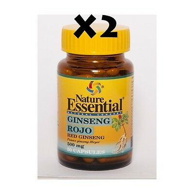 ginseng rojo 500 mg 50x2 capsulas NATURE ESSENTIAL