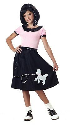 3f180140e682 50s Hop with POODLE SKIRT Child Costume Retro Girls Fifties Jukebox 50's
