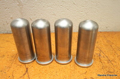 Lot Of 4 Sorvall Centrifuge Swing Rotor  Bucket Tubes Cat 599