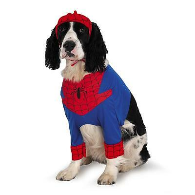 Spider-Man Pet Costume Cute Dog Outfit Spiderman