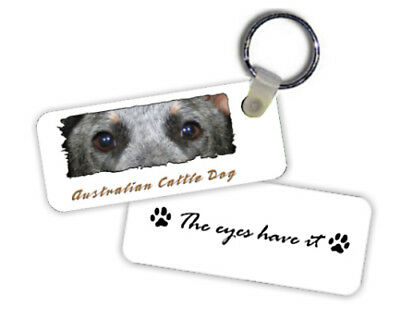 Australian Cattle Dog #1  The Eyes Have It   Key  Chain