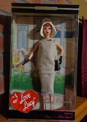 Lucy Gets A Paris Gown 2002 Barbie Doll  NRFB