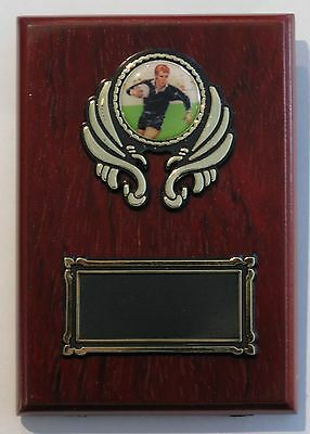 Rugby  Trophy / Wooden  Plaque 125x90mm  Engraved FREE