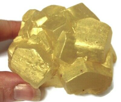 NEW LARGE GOLD / PYRITE CRYSTAL SILICONE SOAP/Candle MOLD / mould Amazing,