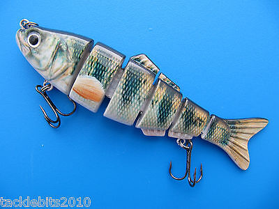 Alive Jointed Life-Like Fishing Lure Perch Plug Pike Spinner Predator