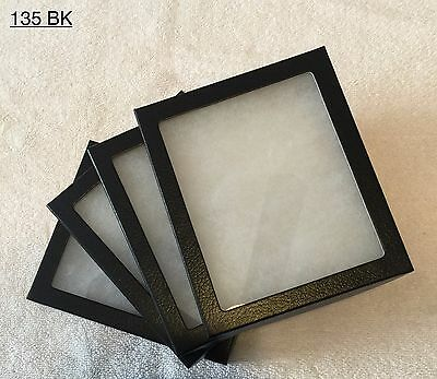 "#135  (24) Riker Mount Display Case Shadow Box Frame Tray  6"" X 5"" X 3/4"""